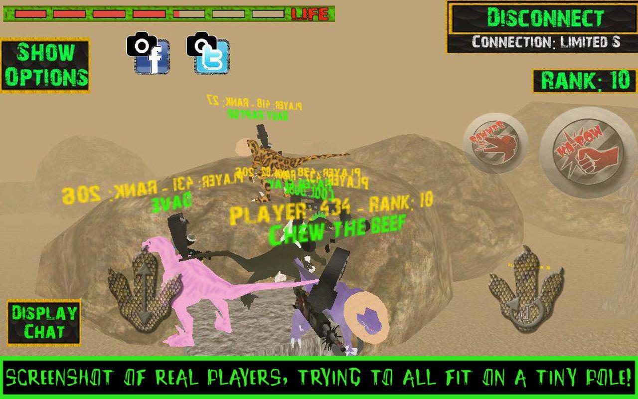 Raptors Online - Multiplayer - screenshot