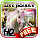Live Jigsaws Free - Unicorns icon