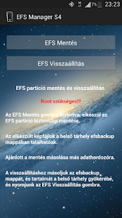 EFS Manager S4- screenshot thumbnail