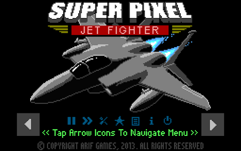 Super Pixel Jet Fighter - screenshot thumbnail