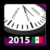 Mexico Calendar 2105