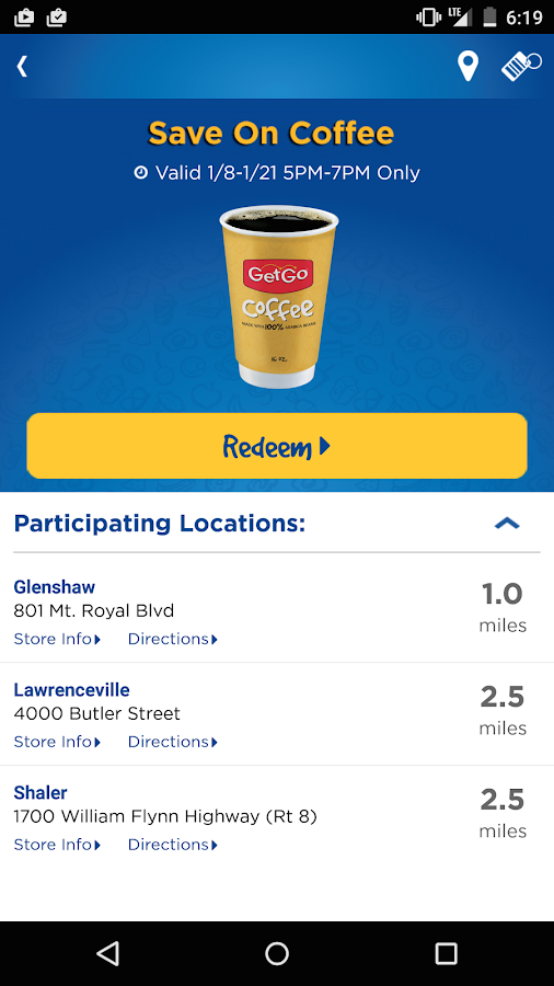 GetGo - screenshot