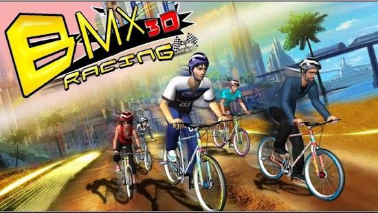 BMX Racing 3D Free Games