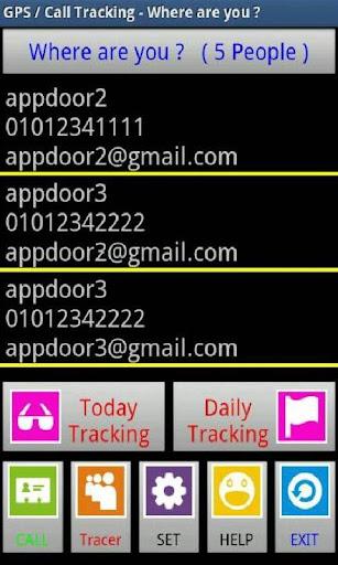 GPS Call Tracker PRO-4 Tracker