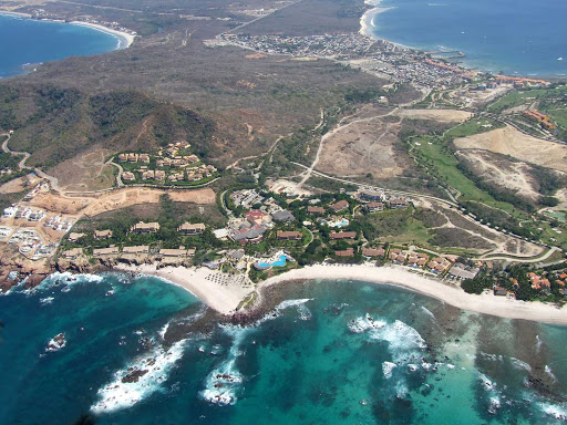Four-Season-Punta-Mita-Nayarit-Mexico-1 - Aerial view of the pristine beaches of the Four Seasons Resort Punta Mita, Mexico.