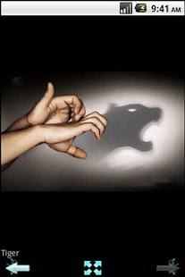 Hand-shadow