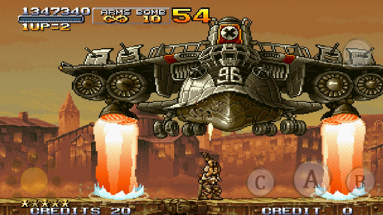 METAL SLUG X- screenshot