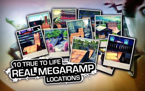 اللعبة الرائعه MegaRamp The Game v1.1.1 للاندرويد