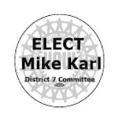 Elect Mike Karl