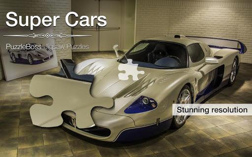 Super Cars Jigsaw Puzzles