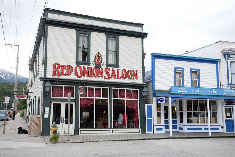 The Red Onion Saloon in Skagway, Alaska.