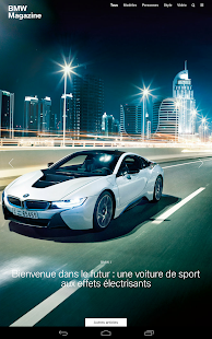 BMW Magazine France Capture d'écran