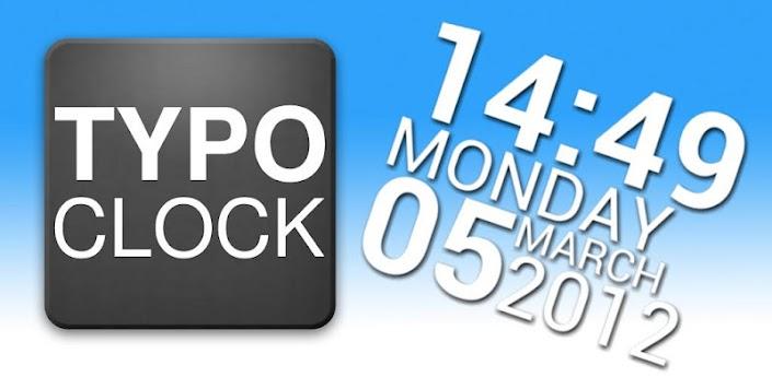 TypoClock v0.70 apk