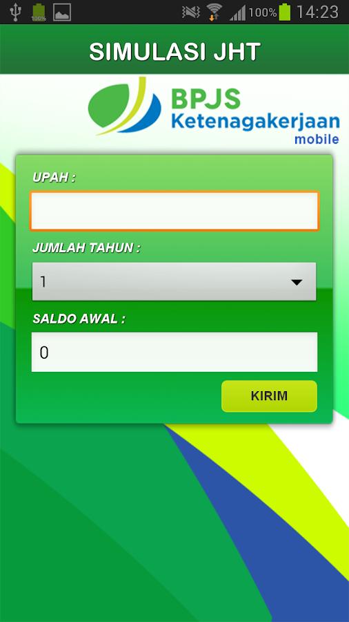 BPJSTK Mobile - screenshot