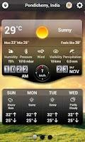 Screenshot of Weather HD - World Weather App
