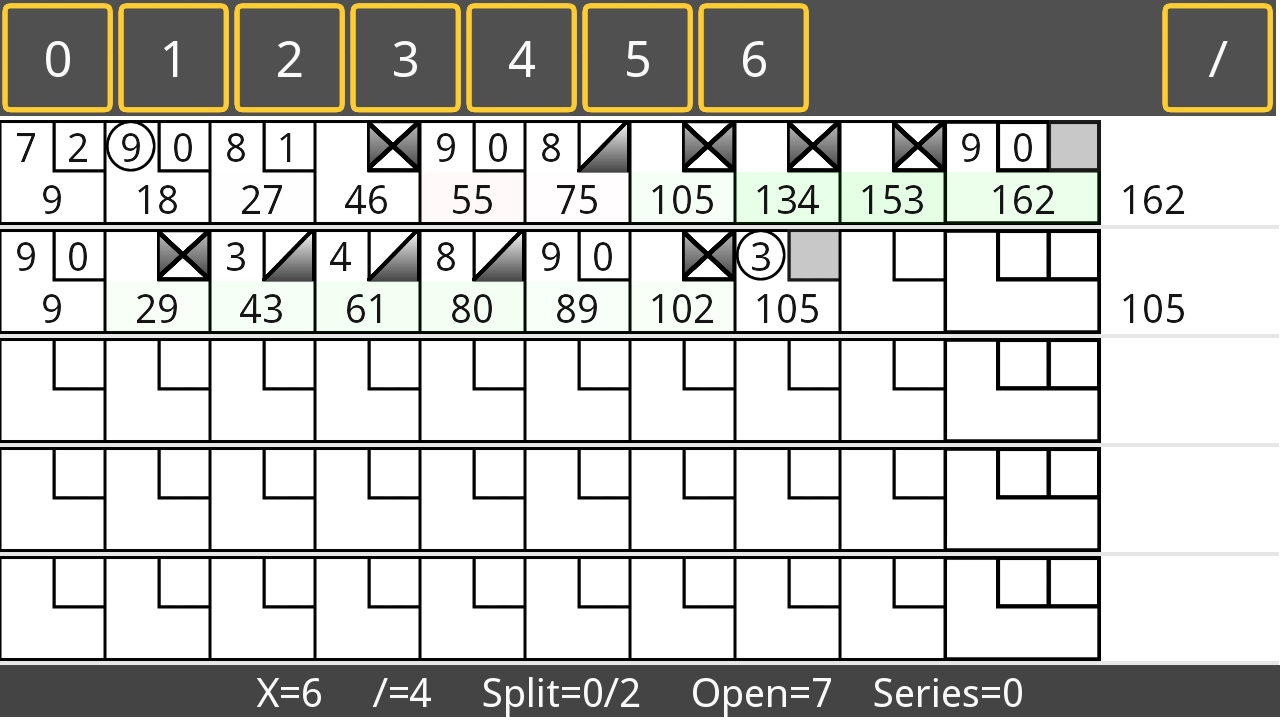 Bowling Stat Master - screenshot