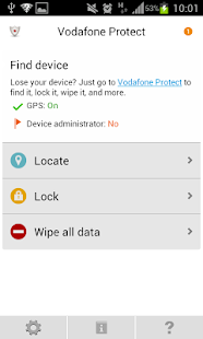 Vodafone Protect - screenshot thumbnail