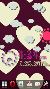 Weather Flow! Alarm LWP!- screenshot thumbnail