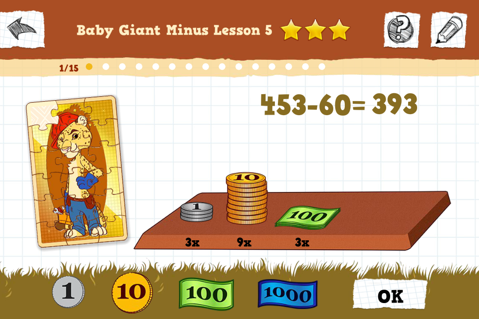 IQ Safari MATH- screenshot