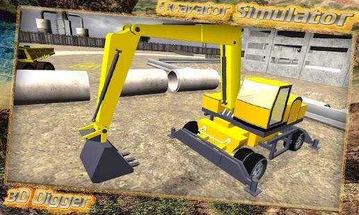 Excavator-Simulator-3D-Digger 3