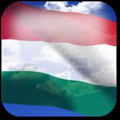 3D Hungary Flag
