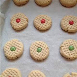 Maple Shortbread Cookies.
