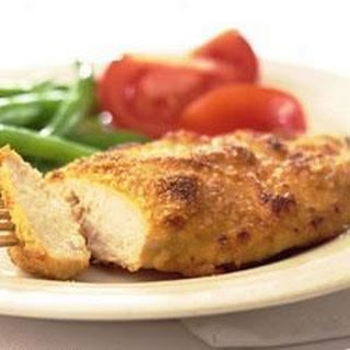 Baked Dijon Chicken.