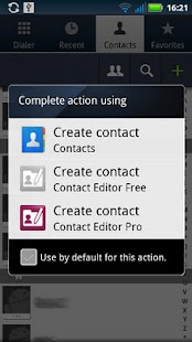 Contact Editor Pro - screenshot thumbnail