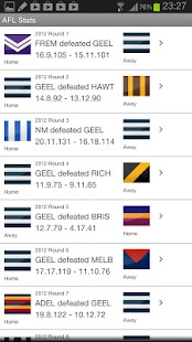 AFL Footy Stats - screenshot thumbnail