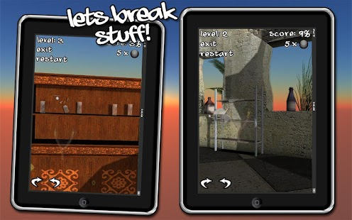 Let's Break Stuff! slingshot- screenshot thumbnail