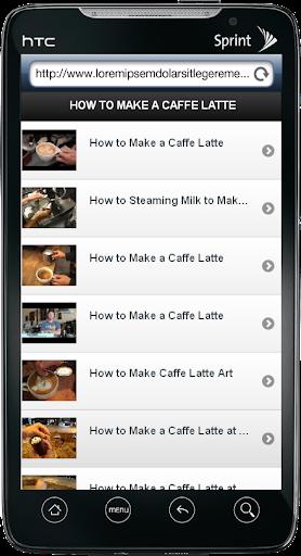 DIY Caffe Latte