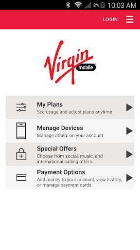 Virgin Mobile Control