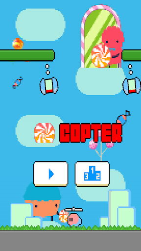 Candy World Copter