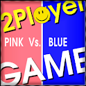 Multiplayer Games Pink Vs Blue logo