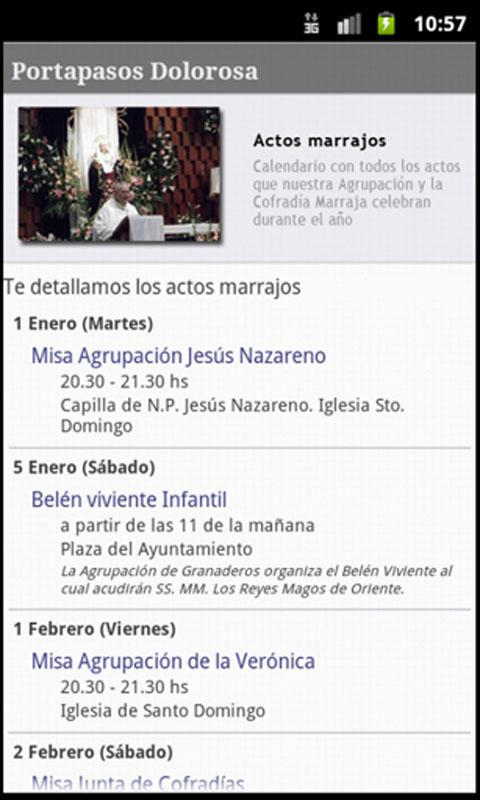 Portapasos Dolorosa- screenshot