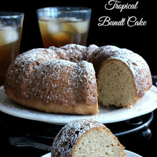 Sugar Free Tropical Bundt Cake.