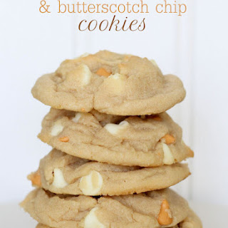 White Chocolate and Butterscotch Chip Cookies