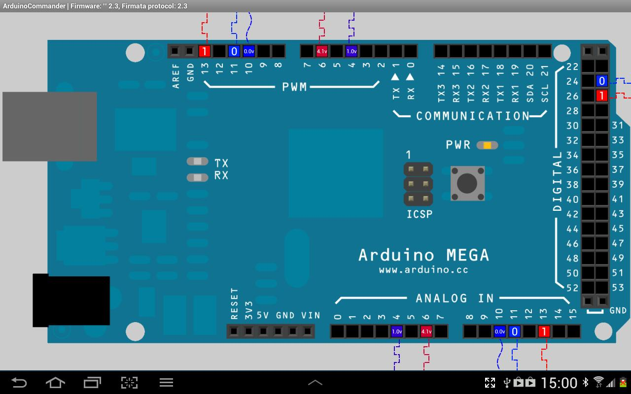 ArduinoCommander- screenshot
