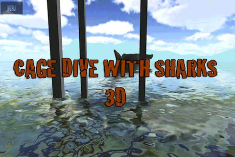 Shark Cage Dive 3D- screenshot