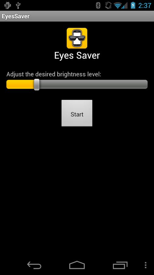 Eyes Saver- screenshot
