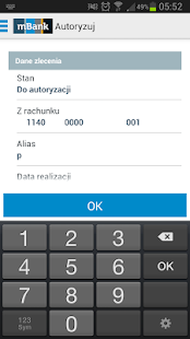mBank CompanyMobile - screenshot thumbnail
