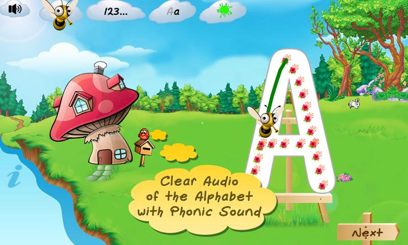 I Can Write ABC kids alphabets - screenshot