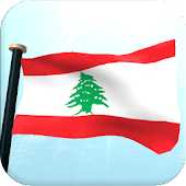 Lebanon Flag 3D Free Wallpaper