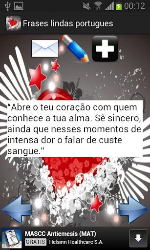 Frases lindas portugues