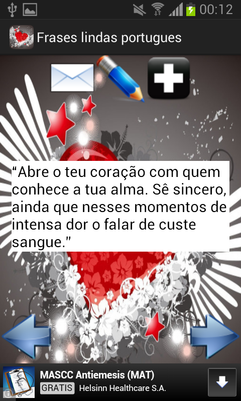 Frases lindas portugues- screenshot