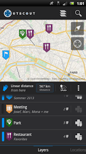 OutScout - Locations & Tracks- screenshot thumbnail