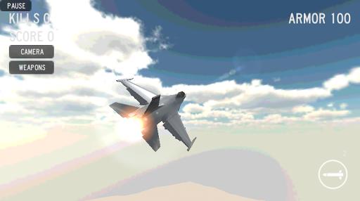 Jet Fighter War 3D - Dogfight