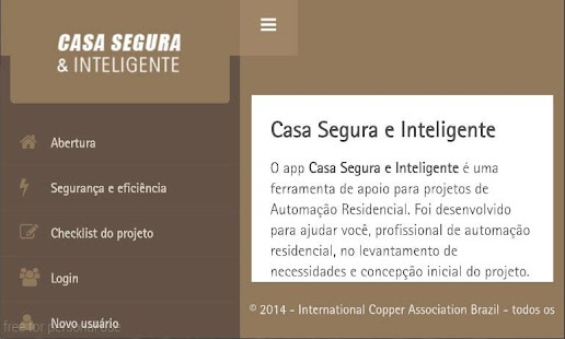 Casa Segura e Inteligente- screenshot thumbnail