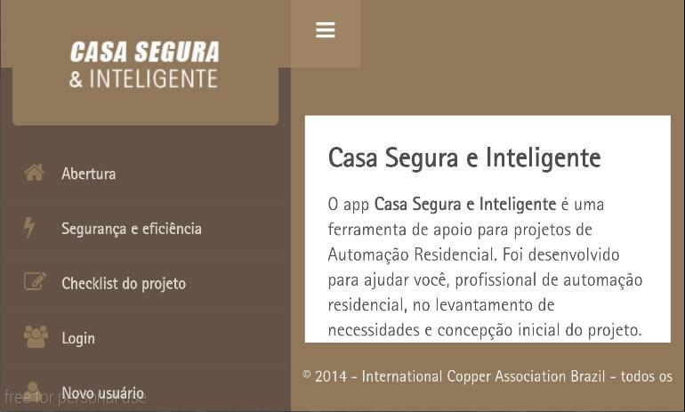Casa Segura e Inteligente- screenshot