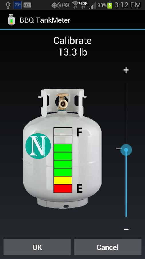 BBQ TankMeter - Grill Gauge - screenshot